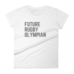 Future Rugby Olympian - Women's short sleeve t-shirt - Saturday's A Rugby Day