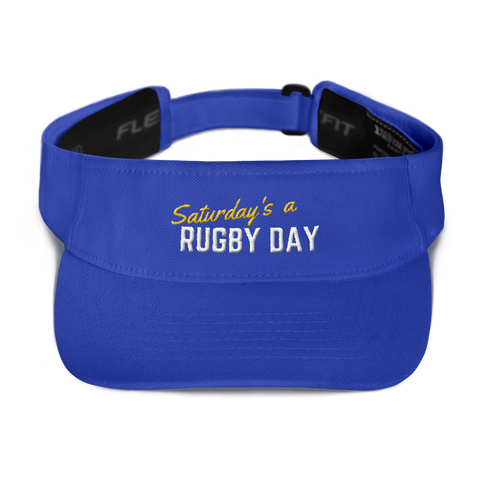 SARD Visor - Saturday's A Rugby Day