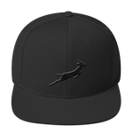 Grand Rapids Black Out Snapback Hat - Saturday's A Rugby Day