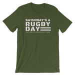 SARD Military Green - Saturday's A Rugby Day