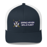 Grand Haven Girls Rugby Trucker Cap - Saturday's A Rugby Day