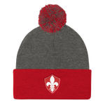 Louisville Rugby Pom Pom Knit Cap - Saturday's A Rugby Day