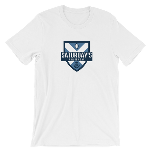 Saturday's a Rugby Day Great Scot Short-Sleeve Unisex T-Shirt - Saturday's A Rugby Day