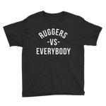 Ruggers -VS- Everybody Youth Short Sleeve T-Shirt - Saturday's A Rugby Day