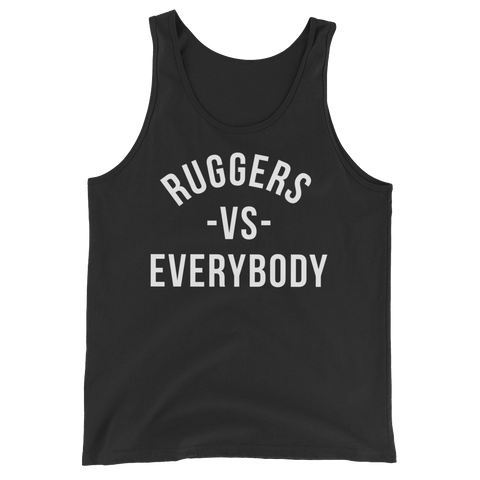 Ruggers - VS - Everybody Tank Top - Saturday's A Rugby Day