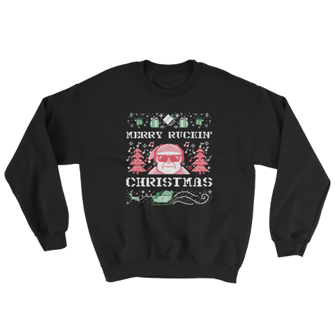 Merry Ruckin' Christmas Sweatshirt - Saturday's A Rugby Day