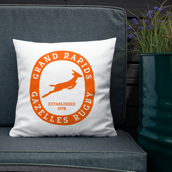 Grand Rapids Gazelles Premium Pillow - Saturday's A Rugby Day