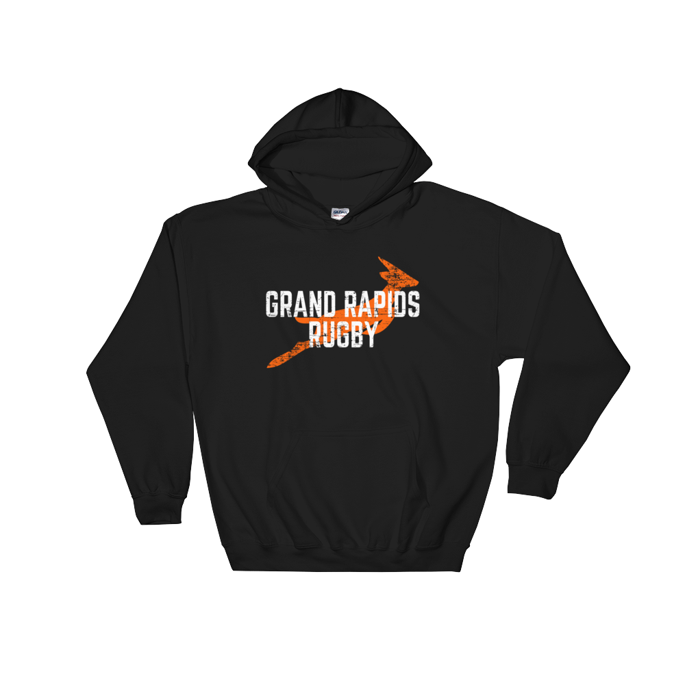 Grand Rapids Rugby Hooded Sweatshirt - Saturday's A Rugby Day