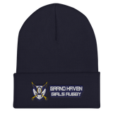 Grand Haven Girls Cuffed Beanie - Saturday's A Rugby Day