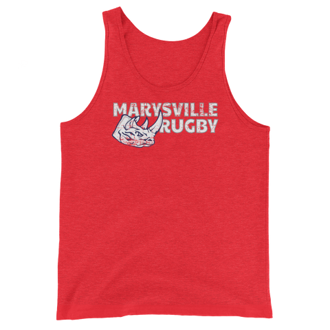 Marysville Rugby Unisex Tank Top - Saturday's A Rugby Day