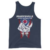 Marysville Rhino with Ohio Flag Unisex Tank Top - Saturday's A Rugby Day