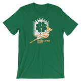 Grand Rapids Shamrock Shield Short-Sleeve Unisex T-Shirt - Saturday's A Rugby Day