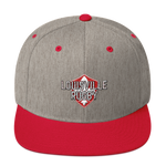 Louisville Large Crest Logo Snapback Hat - Saturday's A Rugby Day
