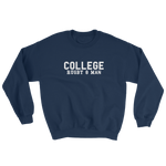 College - Rugby 8 Man - Sweatshirt - Saturday's A Rugby Day