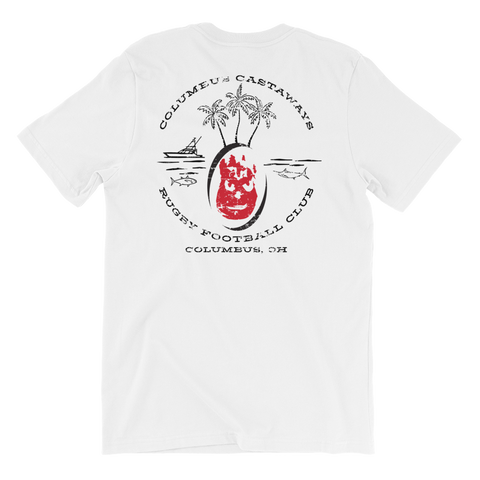 Castaway Island Short-Sleeve Unisex T-Shirt - Saturday's A Rugby Day