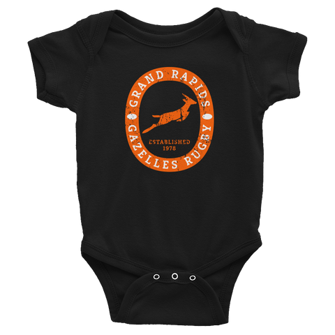Grand Rapids Gazelles Infant Bodysuit - Saturday's A Rugby Day