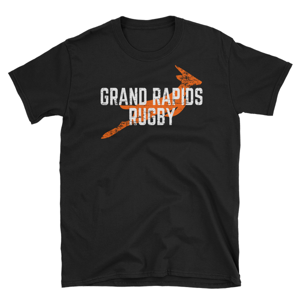 Grand Rapids Rugby Short-Sleeve Unisex T-Shirt - Saturday's A Rugby Day