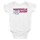 Marysville Infant Bodysuit - Saturday's A Rugby Day