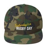SARD Snapback Hat - Various Colors - Saturday's A Rugby Day