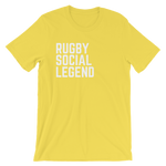 Rugby Social Legend T-Shirt - Saturday's A Rugby Day