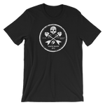 White River Crossbones Short-Sleeve Unisex T-Shirt - Saturday's A Rugby Day