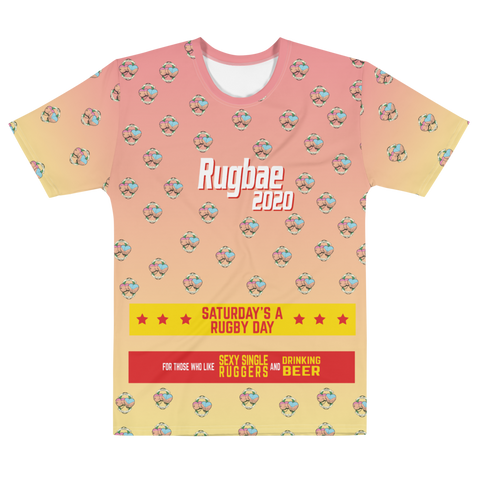 Rugbae Natur...Saturday Sublimated T-shirt