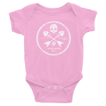 White River Crossbones Infant Bodysuit - Saturday's A Rugby Day