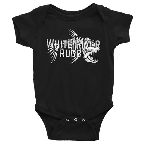 White River Infant Bodysuit - Saturday's A Rugby Day