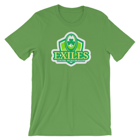 Exiles Irish Rugby Short-Sleeve Unisex T-Shirt