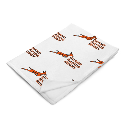GR Rugby Throw Blanket