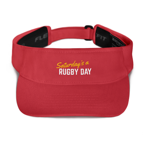 SARD Visor - Various Colors - Saturday's A Rugby Day