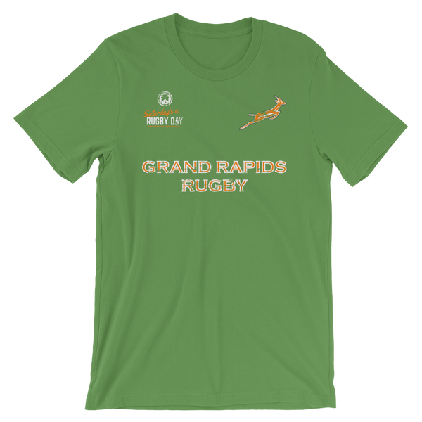 Grand Rapids Rugby St. Pats Jersey Style Short-Sleeve Unisex T-Shirt