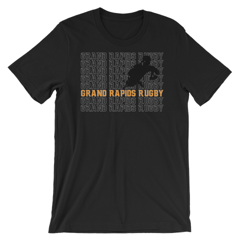 Grand Rapids Rugby Repeat Short-Sleeve Unisex T-Shirt