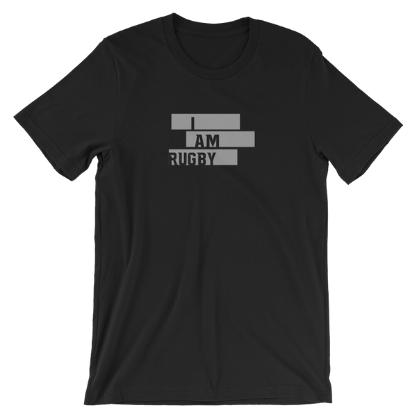 I Am Rugby Unisex T-Shirt - Saturday's A Rugby Day