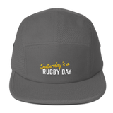 SARD Five Panel Cap - Various Colors - Saturday's A Rugby Day