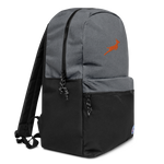 Grand Rapids Rugby Embroidered Champion Backpack - Saturday's A Rugby Day