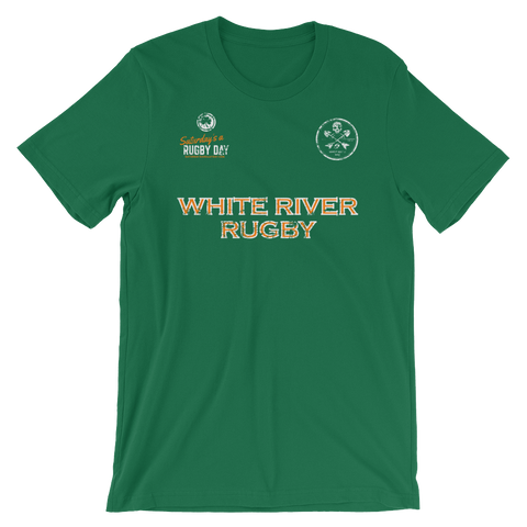 White River St. Pats Jersey Style Short-Sleeve Unisex T-Shirt