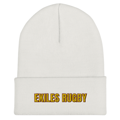 Exiles Rugby Cuffed Beanie