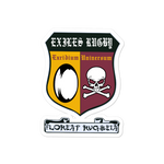 CMU Exiles Bubble-free stickers