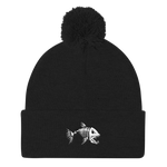 White River Pom Pom Knit Cap - Saturday's A Rugby Day
