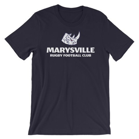 Marysville Rhinos RFC Short-Sleeve Unisex T-Shirt - Saturday's A Rugby Day