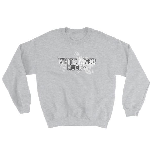 White River Sweatshirt with Logo Sleeve