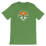 White River Shamrock Crest Short-Sleeve Unisex T-Shirt - Saturday's A Rugby Day