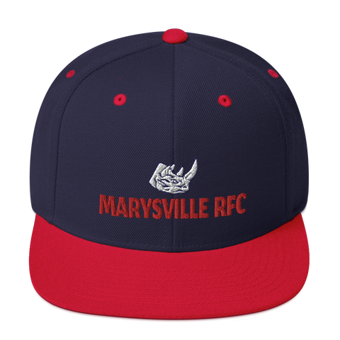 Marysville Snapback Hat - Saturday's A Rugby Day