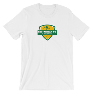 Saturday's a Rugby Day Aussie Short-Sleeve Unisex T-Shirt