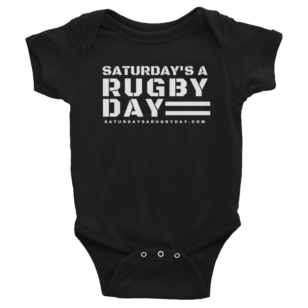 Infant Bodysuit - Saturday's A Rugby Day