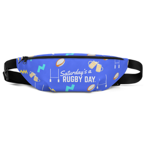 Saturday's a Rugby Day Fanny Pack