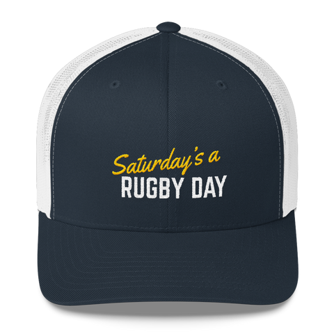 SARD Trucker Cap - Various Colors - Saturday's A Rugby Day