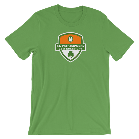 St. Patrick's Day is a Rugby Day Short-Sleeve Unisex T-Shirt