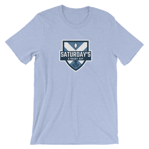 Saturday's a Rugby Day Great Scot Short-Sleeve Unisex T-Shirt